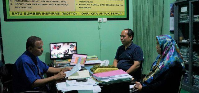 Dekan FHIL UHO Terima Kunjungan PT. Swakarsa Sumber Makmur