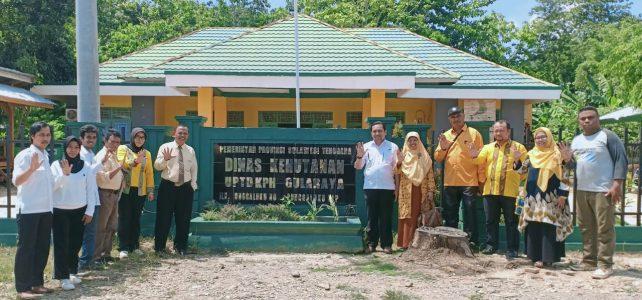 Wujudkan Hutan Pendidikan, Dekan FHIL UHO Jajaki Kerjasama dengan KPH Gula Raya