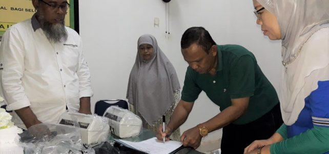 Pelaksanaan SIRAPIM FHIL UHO Dirangkaikan dengan Penyerahan Fasilitas Pendukung Administrasi