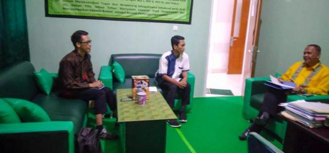 Diminta Menjadi Pembina LDK Ulul Albab UHO Periode 2020-2021, Begini Arahan Penting Dekan FHIL