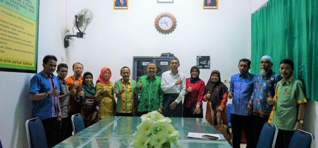 Silaturrahmi Pisah Sambut Pejabat (SILPISAJA) Kasubag Akademik FHIL UHO, Kendari , 5 Maret 2020